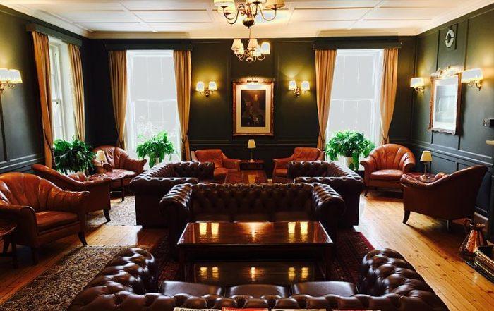 Living room highlighting Italian sofas in Sydney